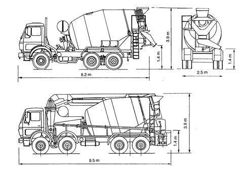 Longueur Tapis Toupie Beton by Pin Camion Malaxeur Pompe On