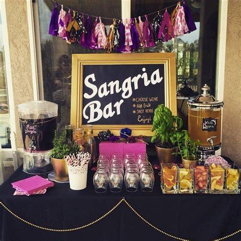 best 25 sangria bar ideas on sangria