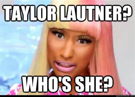 Taylor Lautner Meme - taylor lautner who s she nicki troll face quickmeme