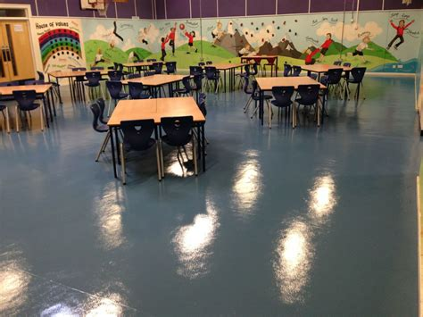Deep Cleaning and Sealing Rubber Floor at Stanton Bridge