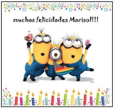 doodle happy birthday minion best 25 muchisimas felicidades ideas on
