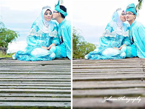 Baju Barca Warna Biru baju pengantin warna biru laut zakuanhasan photography