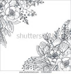 hand drawn flowers stock images royalty free images