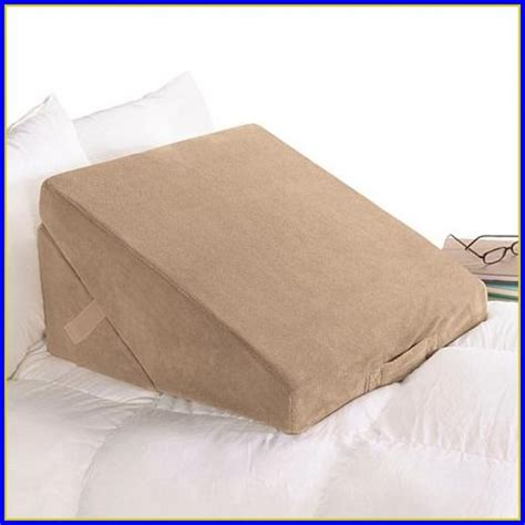 bed bath wedge pillow bed wedge pillow for snoring bedroom home design ideas