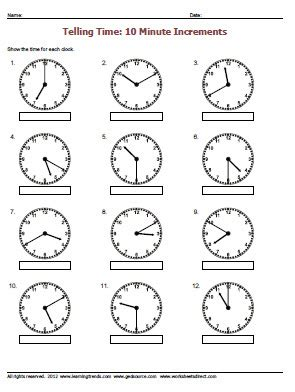 clock worksheets nearest 5 minutes nearest quotes like success