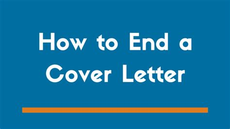 how to end a cover letter exles how to end a cover letter exles 53 images front letter