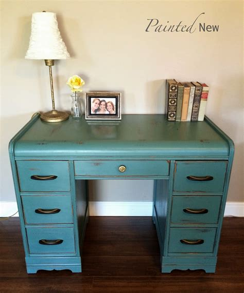 Paint For Desk by Painted New Deco Waterfall Desk