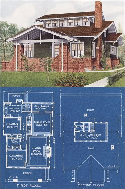 chicago bungalow house plans the world s catalog of ideas