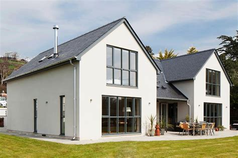 How To Frame A Dormer Modern Chalet Bungalow On A Sloping Plot Self Build Co Uk