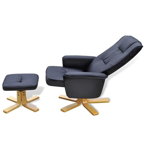 tv armchair black tv armchair recliner artificial leather with