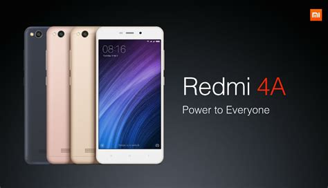 redmi 4a xiaomi redmi 4a sale starts today at 12 pm ist via