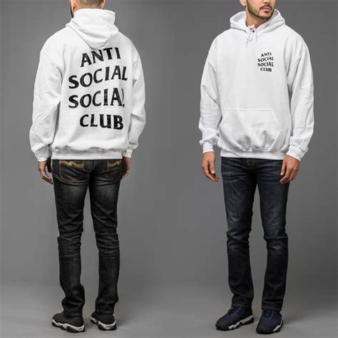 Hoodie Assc Anti Social Social Club Real Picture anti social social club hoodie wehustle menswear