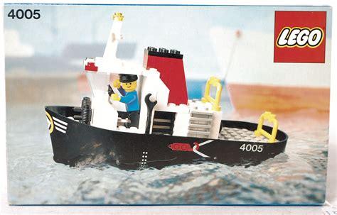 lego boat vintage lego an original vintage lego town 4005 tugboat boxed set