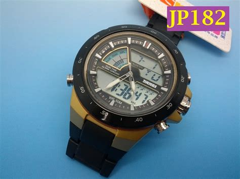 Jam Tangan Quartz Digital jual jp182 jam tangan pria skmei 1016 waterproof digital