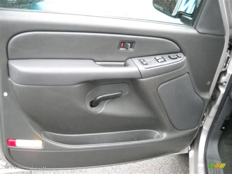 2006 chevrolet silverado 1500 lt extended cab door panel