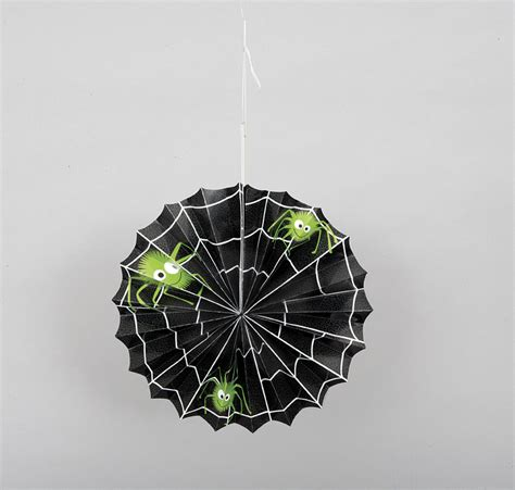 spider web decorations for spider web paper accordian hanging decoration