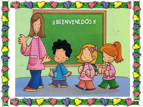 imagenes infantiles regreso a clases maestra asunci 243 n hermosos carteles de bienvenida