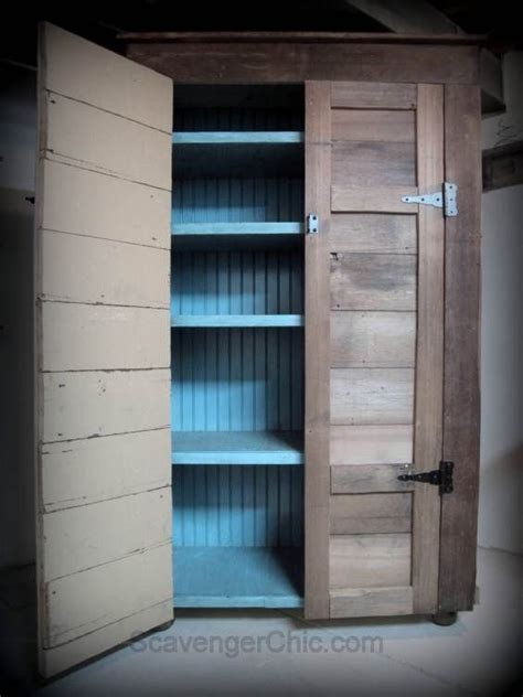 Diy Cupboard Shelves - learn how to build this 6 1 2 ft rustic country cupboard
