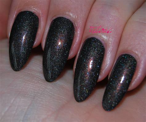 black holographic nail polish opi my private jet opi my private jet nail varnish talonted lex