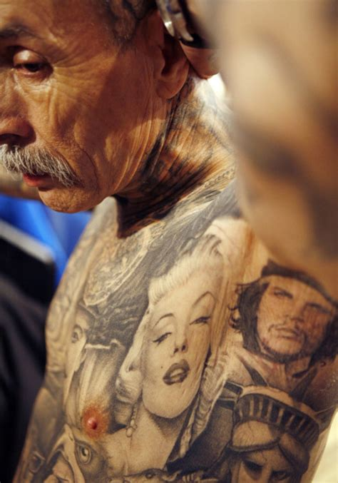old man with tattoos on cool tattoos