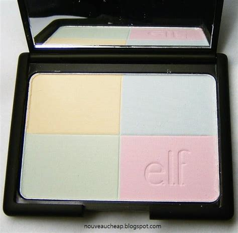 color correcting powder review e l f studio tone correcting powder in cool