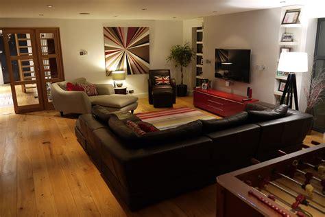 open plan living area surbiton surrey interior design