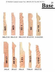 wood trim profiles base moulding page 23 j j wohlfert s custom wood