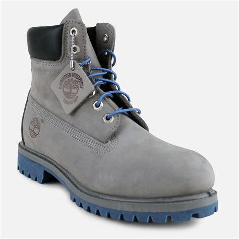 timberland classic 6 quot suede boot grey blue sole villa