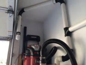 pvc garage central vacuum system