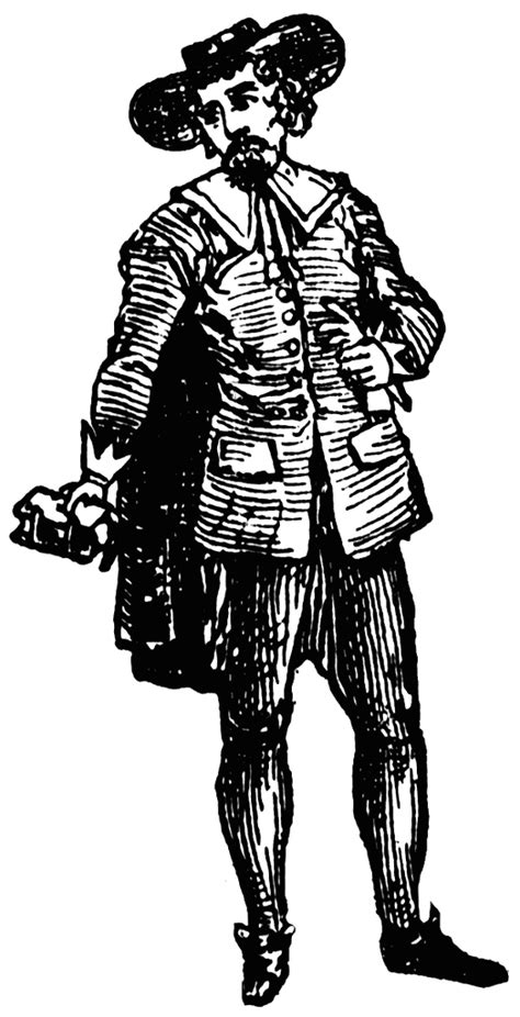 Puritan Male | ClipArt ETC