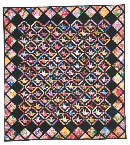 Origami Crane Quilt Pattern - 21 best images about picture style paper piecing on