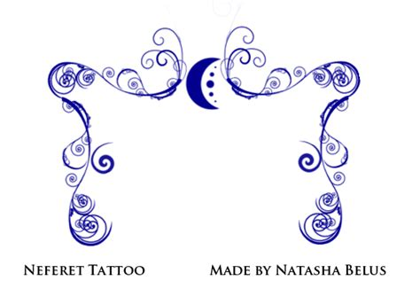 house of night tattoo designs neferet tattoos by natbelus on deviantart