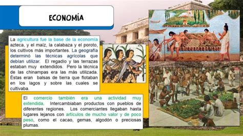 imagenes economia azteca aztecas