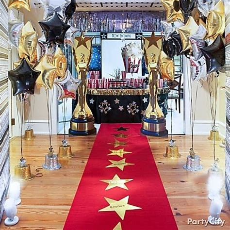 party themes red carpet hollywood oscar night party red carpet tema de