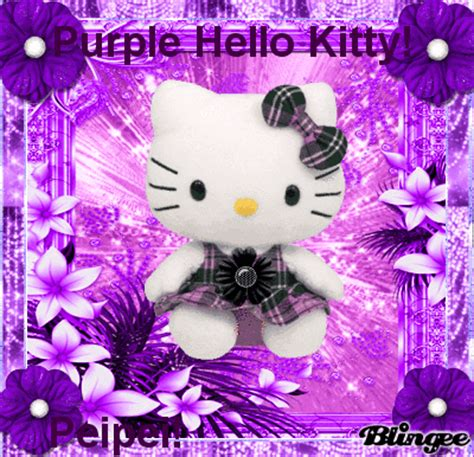 hello kitty violet themes purple hello kitty picture 132209233 blingee com