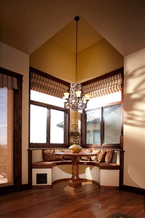 breakfast nook lighting dining room traditional with art semi circle nook dining room contemporary with built in