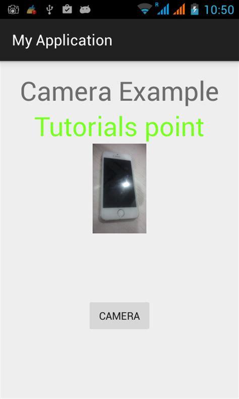 Tutorial Android Camera | android camera tutorial
