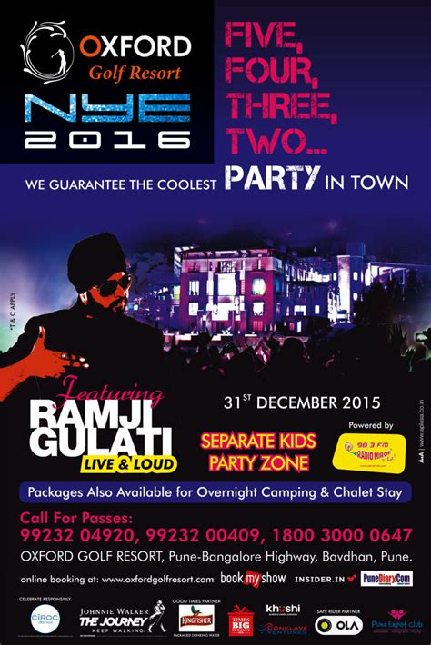 new year oxford 2016 new years 2016 oxford golf resort pune expat club