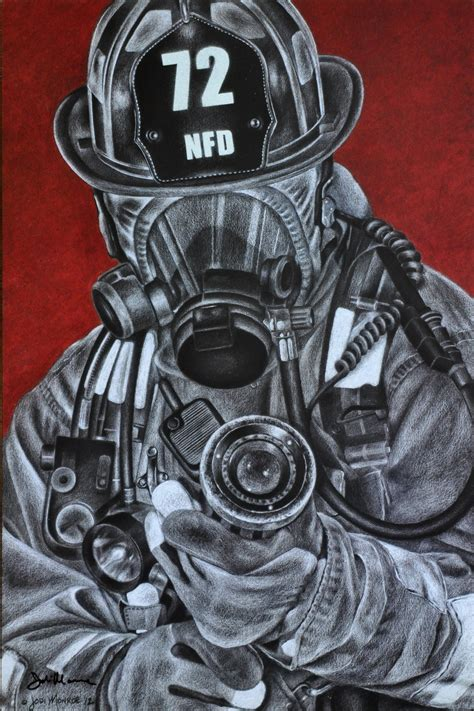 fireman home decor firefighter artwork www pixshark com images galleries