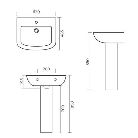 corner vanity dimensions