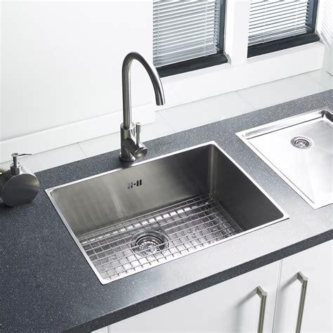 Oversized Stainless Steel Kitchen Sinks Onyx Large Bowl Stainless Steel Kitchen Sink Sinks Taps