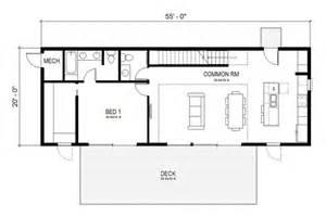 Rustic Country House Plans plano de casa moderna rectangular de 3 dormitorios