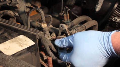 jeep cherokee fuel pressure regulator replacement youtube