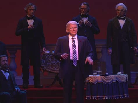 donald trump hall of presidents disney world sees backlash after adding trump to hall of