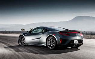 Hinda Acura Wallpaper Honda Nsx Acura Nsx Rear View 2017 Cars