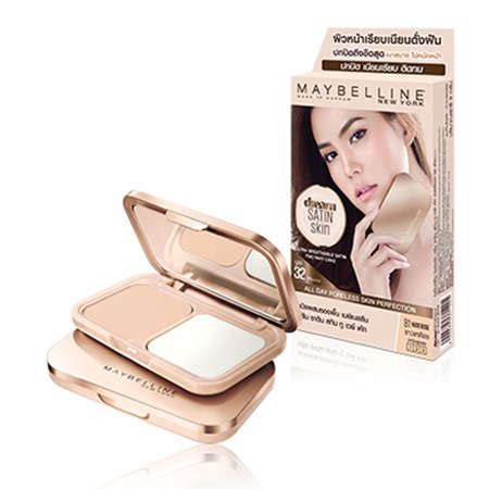 Maybelline Satin Two Way Cake maybelline satin skin two way cake เปร ยบเท ยบราคา