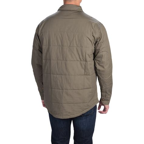 Quilted Shirt Jacket by Dickies Quilted Shirt Jacket For And Big Save 66