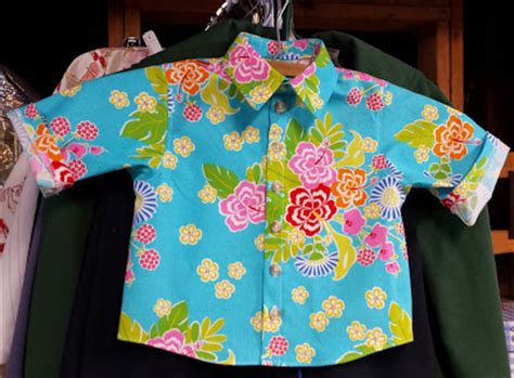 hawaiian shirt pattern sewing sew intriguing tiny hawaiian shirt