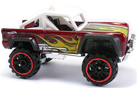 Ready Custom Ford Bronco Biru Blue Wheels Hw Hotwheels custom ford bronco 67mm 2008 wheels newsletter