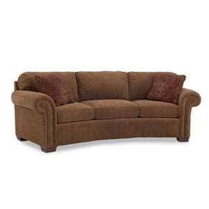Find Your Furniture by Huntington House 7581 Upholstered Wedge Conversation Sofa Ahfa Conversation Sofa Dealer Locator